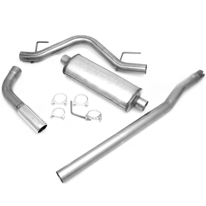 2004-2010 F-150 4.6L & 5.4L JBA Single Side Exit Exhaust System