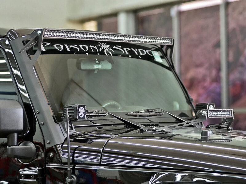 2007 2013 Jeep Jk Rigid Roof Mount Kit 40131