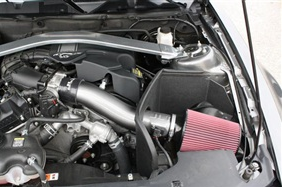 2011 2014 Mustang 3 7l V6 Jlt Cold Air Intake Painted