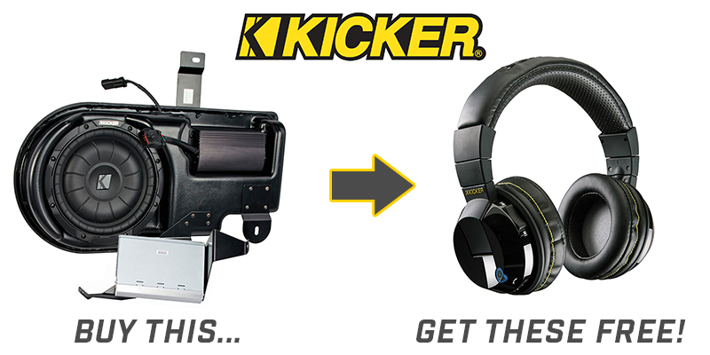 Free Tabor Headphones with Kicker PowerStage Purchase
