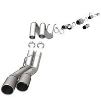 2008-2010 F250 & F350 Magnaflow Filter-Back Pro-Series Dual Exhaust Kit (6.4L)