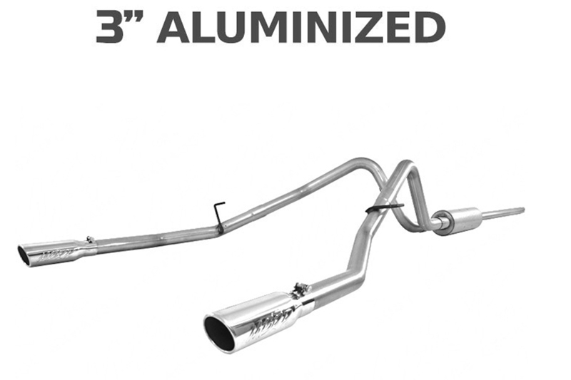 2004-2008 F150 MBRP Installer Series Dual Rear Cat-Back Exhaust Kit