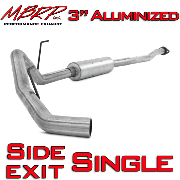 "2011-2014 F150 EcoBoost MBRP Performance Series 3"" Single-Exit Cat-Back Kit"
