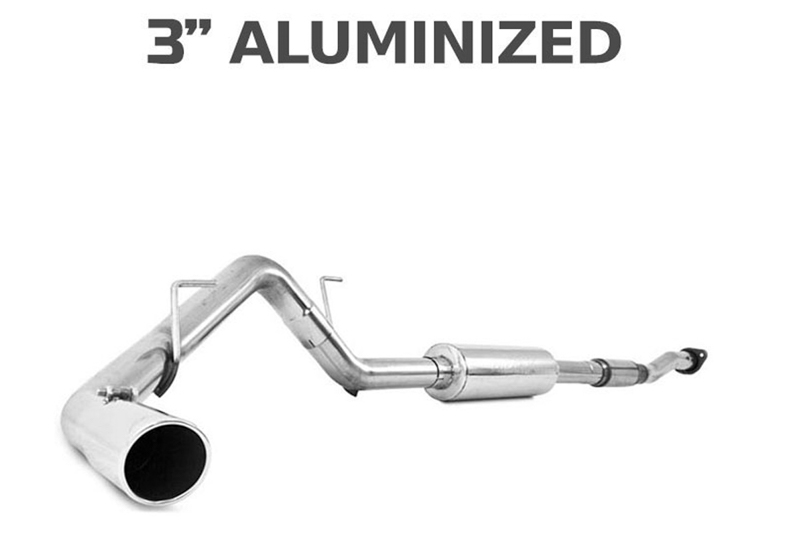 "2011-2014 F150 5.0L MBRP Installer Series 3"" Single Side Exit Cat-Back Exhaust Kit"