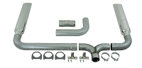1999-2003 F250 & F350 7.3L MBRP Turbo-Back Smoker XP-Series Exhaust Kit (With Stacks)