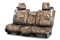 2015-2017 F150 CoverKing Ballistic A-TACS Arid/Urban Camo Front Seat Covers