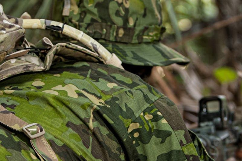 multicam camo green tropic foliage tropical camouflage pattern covers front seat f150 patterns arid tacs ballistic coverking jungle alpine tru
