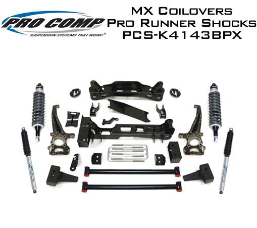 pro comp 6 suspension crossmember knuckle lift kit  html
