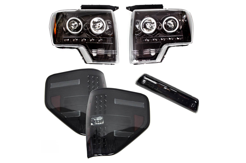 2009-2014 F150 / Raptor S3M Recon Lighting Package (Smoked)