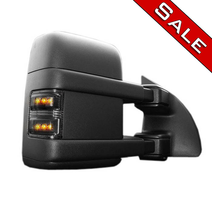2008-2015 F-250 / F350 Recon Lighting LED Side Mirror Lights (Smoked)