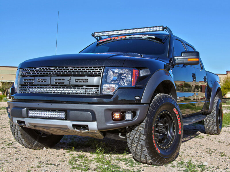 2010-2014 SVT Raptor Behind-Grille LED Light Bar Kit