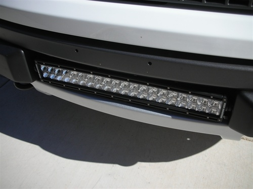 2010-2014 SVT Raptor Lower Bumper 20-Inch Mount