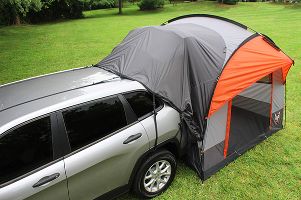 tents truck tent camping suv gear bed rightline f150 camper shell honda ford super duty hatch minivan jeep cr sleeps