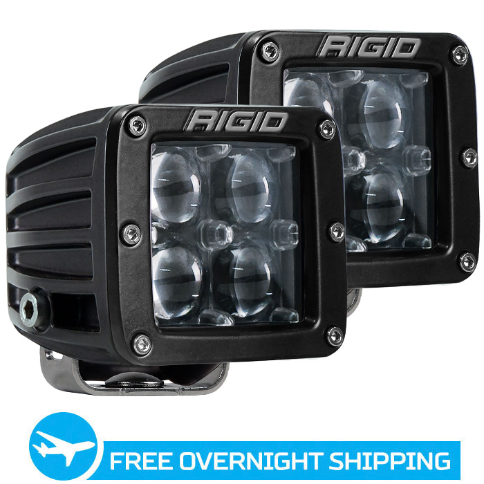 Rigid Industries D2 LED Lights - Hyperspot - White - Pair