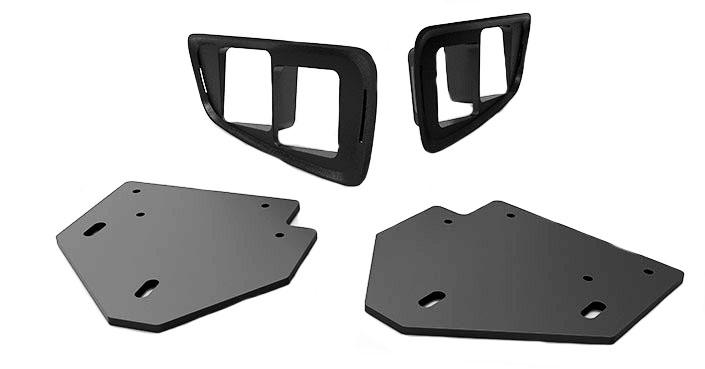 Ford Raptor SVT Fog Light Bezel/Bracket Kit