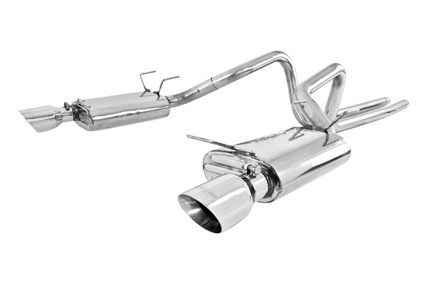 2011-2014 Mustang 3.7L V6 MBRP Cat-Back Exhaust System (Aluminized)