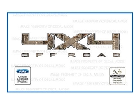 Officially Licensed 2009-2014 F150 4x4 Off-Road RealTree AP Decals (Pair)