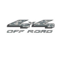Officially Licensed 1997-2008 F150 4X4 Off-Road ACU Camo Decals (Pair)