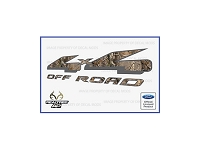 Officially Licensed 1997-2008 F150 4x4 Off-Road RealTree AP Decals (Pair)