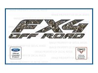 Officially Licensed 1997-2008 F150 FX4 Off-Road Predator Deception Camo Decals (Pair)