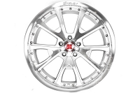 2005-2017 Mustang Carroll Shelby CS40 20x10 Wheel (Silver / Machined)