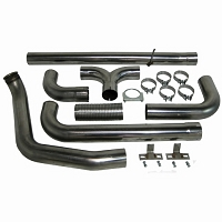 1999-2003 F250 & F350 7.3L MBRP Turbo Back Smoker XP-Series Exhaust Kit (No Stacks)