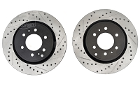 2010-2017 F150 StopTech Cross-Drilled & Slotted Front Rotors