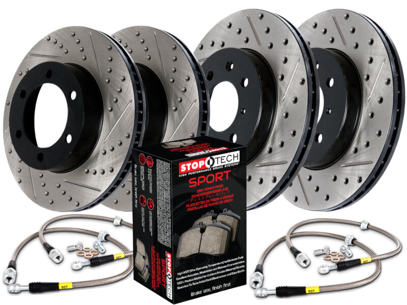 StopTech F150 Axle-Pack Brake Package