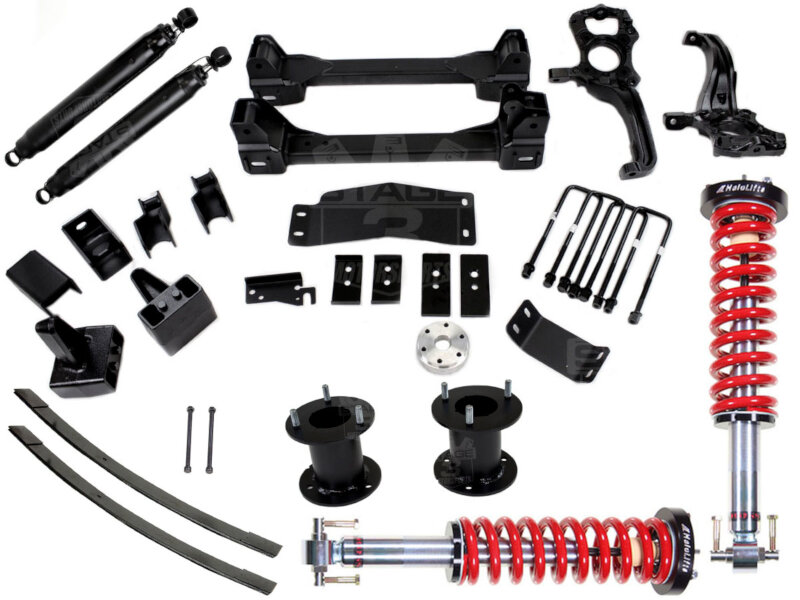 "2014 F-150 4WD Stage 3 Motorsports 8"" Lift Kit"