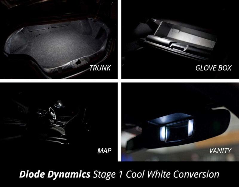 2015 2017 Mustang Diode Dynamics Led Conversion Kit Ledkit
