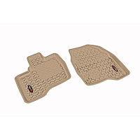 2011-2014 Ford Explorer Rugged Ridge 2-piece Front Floor Liner (Tan)