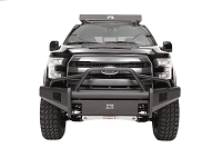 2015-2017 F-150 Fab Fours Elite Front Bumper w/ Pre-Runner Guard