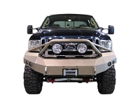 2005-2007 F250 & F350 Fab Fours Front Winch Bumper w/ Pre-Runner Grille Guard