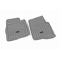 2004-2008 F150 Rugged Ridge 2-piece Front Floor Liners (Gray)