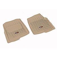 2004-2008 F150 Rugged Ridge 2-piece Front Floor Liners (Tan)