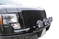 2009-2014 Ford F150 KC HiLites 4-Tab Front End Light Bar