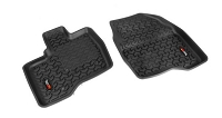 2011-2014 Ford Explorer Rugged Ridge 2-piece Front Floor Liners (Black)