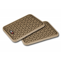 1999-2018 Universal Fit Rugged Ridge 2-piece Rear Floor Liners (Tan)
