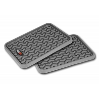 1999-2018 Universal Fit Rugged Ridge 2-piece Rear Floor Liners (Gray)
