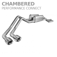 2009-2010 F-150 5.4L Stainless Works Chambered Performance Connect Side Exit Cat-Back Kit