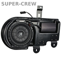 2009-2014 F150 Kicker VSS SubStage Powered Subwoofer Kit (Super Crew)