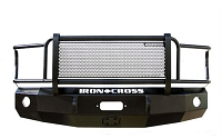 2015-2017 F150 Iron Cross Replacement Front Bumper w/ Full Grille Guard (Winch Ready)
