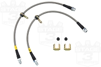 2013-2017 Focus ST StopTech Stainless Steel Brake Lines (Front)
