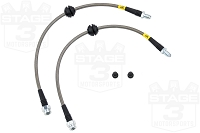 2013-2016 Focus ST StopTech Stainless Steel Brake Lines (Rear)