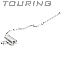 2013-2016 Ford Focus ST Ecoboost Borla Touring Cat-Back Exhaust System