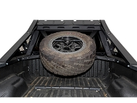 1999-2016 F250 F350 ADD Honey Badger Tire Carrier (Add-On to Chase Rack Base)