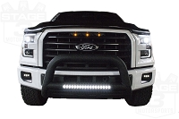 2015-2017 F150 with XLT Grille Raptor Style LED Amber Grille Light Kit