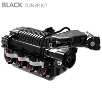 2010-2014 F-150 / F-250 / Raptor 6.2L Whipple W175AX (2.9L) Intercooled Supercharger Tuner Kit (Black)