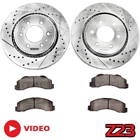 2010-2014 F150 / Raptor Power Stop Z23 Front Brake Kit (6-Lug Only)