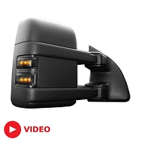 2008-2016 F250 & F350 Recon Lighting LED Side Mirror Lights (Smoked)
